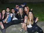 クラクフの夜、若者たち